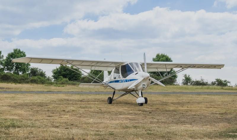 D_MSFD Ikarus Ultraleichtflugzeug